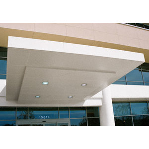 Custom Bone White Standard Series Canopy Panel System