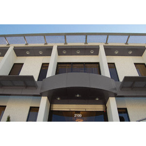 CRL EWC500CDU Custom Bronze Anodized Standard Series Ceiling Panel System