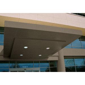 CRL EWCN600CBBRZ Custom Brushed Bronze Standard Series Canopy Panel System