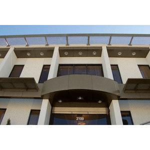 CRL EWC500CBBRZ Custom Brushed Bronze Standard Series Ceiling Panel System
