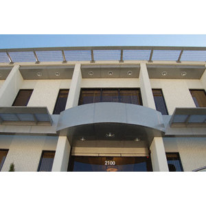 CRL EWC500CBS Custom Brushed Stainless Standard Series Ceiling Panel System