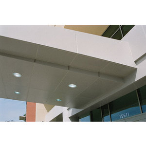 CRL DWC500CNDS Custom Non-Directional Stainless Deluxe Series Ceiling Panel System