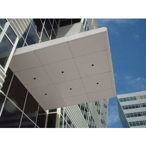 CRL PDCN600CNDS Custom Non-Directional Stainless Premier Series Canopy Panel System