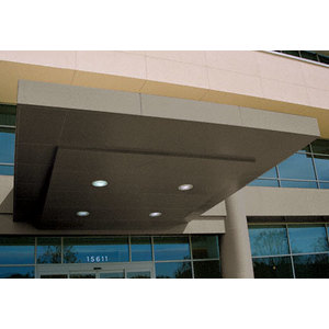 CRL EWCN600CPBRZ Custom Polished Bronze Standard Series Canopy Panel System