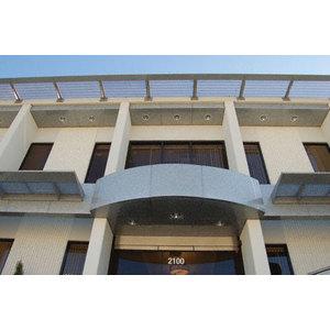 CRL EWC500CSM Custom Silver Metallic Standard Series Ceiling Panel System