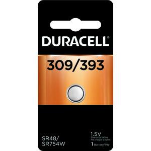DURACELL 66130 Duracell Watch/Calculator Battery Battery Type 309/393