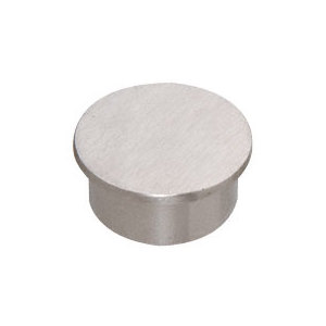 "CRL PR15ECBS Brushed Stainless 1-1/2"" Schedule 40 End Cap"