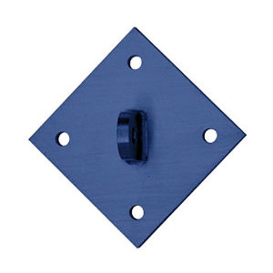 CRL AW9DMPT Custom Color Diamond Shaped Mounting Plate for 12 mm Rods