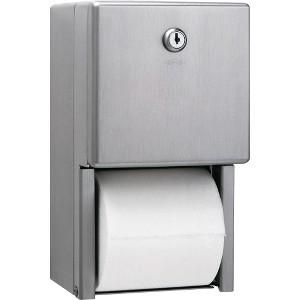 Bobrick Washroom Equipment BOB2888 Two-roll Toilet Tissue Dispenser by Bobrick