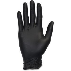Safety Zone SZNGNEPMDK Medical Nitrile Exam Gloves, Black by Safety Zone
