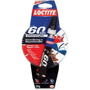 HENKEL LOC1983330 Locite 60 Sec Universal Glue, 20G, Clear, Clear by Loctite