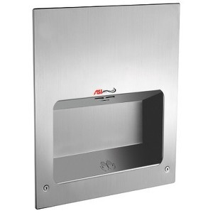American Specialties 134 Turbo Tuff - High Speed Hand Dryer - Ada Model - 110/120V by ASI