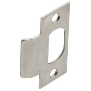 Schlage Commercial 10001626 T Strike with Dust Box and Screws Satin Chrome Finish