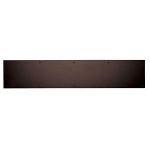 "Ives Commercial 840010B420 4"" x 20"" Kick Plate Oil Rubbed Bronze Finish"