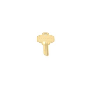 Key Blank 5-Pin E Keyway Matte Antique Nickel Finish