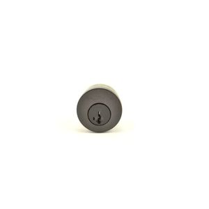 Baldwin Reserve 8BR0204003 Single Cylinder Deadbolt Cylinder Kwikset Smartkey with Housing and 2 Keys Venetian Bronze Finish