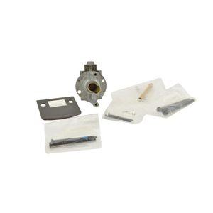 Baldwin Reserve 8BR0701002 Single Cylinder Handleset Thick Door Kit Matte Brass and Black Finish