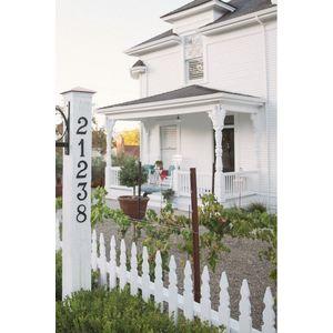 Baldwin 90671033# 1 House Number Vintage Brass