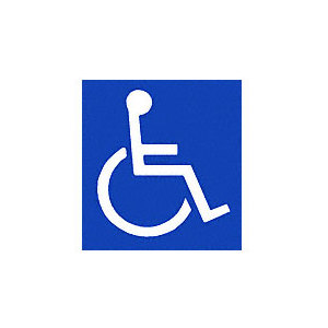 CRL 150B0 Handicap Access Door Decal