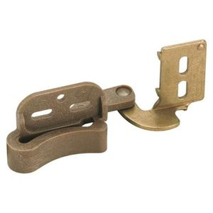 Amerock CMR2606BB 1/2in (13 mm) Overlay Marathon Burnished Brass Hinge
