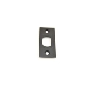 Schlage Residential F206476718 Square Corner Spring Latch Face Plate for Oil Rubbed Bronze, Matte Black, and Aged Bronze Finishes