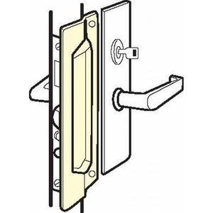 Don Jo MLP-211-SL MLP-211 Out-Swinging Latch Protector