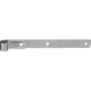 "National Hardware N130765 294BC 12"" Hinge Strap Zinc Plated Finish"