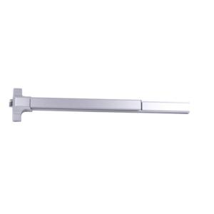 MaxGrade Commercial MED100FALUM3 Standard Duty Panic Rim Exit Device for 36 Inch Door Width Aluminum