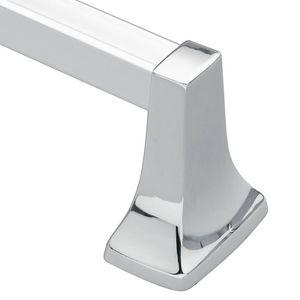 "Moen P5124 Contemporary 24"" Towel Bar Bright Chrome Finish"
