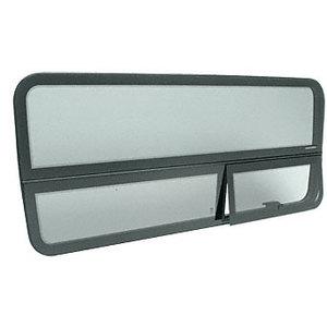 "CRL FW616L 2007+ 'All-Glass' Look Sprinter Van T-Vent Drivers Side Forward Window for 144"" Wheel Base Van 51-7/8"" x 21-9/16"""