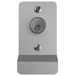 DETEX 03P 628 V Series Aluminum Grade 1 Exit Trim, Night Latch Function, P Pull, Less Cylinder