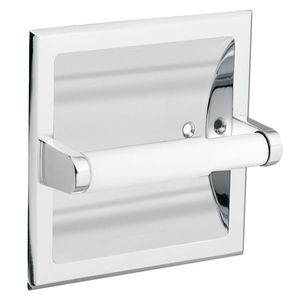 Moen 1576SS Commercial Recessed Paper Holder Satin Stainless Steel Finish