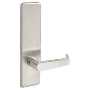 Yale Commercial AU428F630 Augusta Lever Escutcheon Dummy Exit Device Trim Satin Stainless Steel Finish