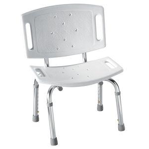 Moen DN7030 Adjustable Shower Chair White Finish
