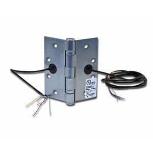 """Command Access Technologies ETH4W454026D 4-1/2"""" x 4"""" Electric 4 Wire BB1279 Hinge Satin Chrome Finish"""