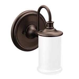 Moen YB6461ORB Belfield Single Globe Bath Light Oil Rubbed Bronze Finish