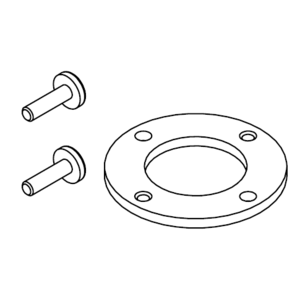 Kwikset 81404 Dummy Adapter for Non-Handed Lever Trims