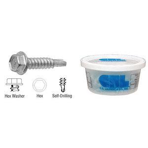"Hilti 14X1HWSD-XCP50 1/4-14 x 1"" Self-Drilling Hex Washer Head #3 Screws - pack of 50"