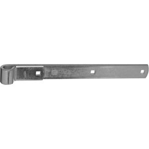 "National Hardware N130799 294BC 14"" Hinge Strap Zinc Plated Finish"