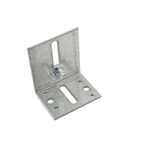 National Hardware N173708 6005 Guide Rail Bracket Galvanized Finish