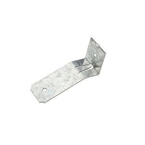 """National Hardware N194001 5436 1-1/2"""" Round Rail Snap-on Flashing Bracket Galvanized Finish"""