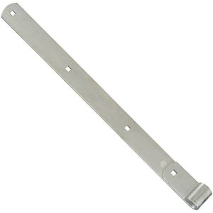 "National Hardware N248047 294BC 24"" Hinge Strap Zinc Plated Finish"