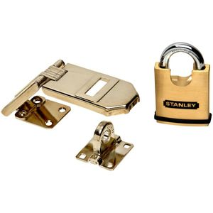 National Hardware V8800-XCP5 Solid Brass Padlock S824-284 - pack of 5