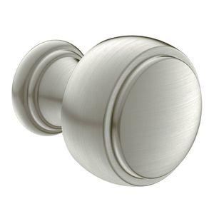 Moen YB8405BN Weymouth Cabinet Knob Brushed Nickel Finish