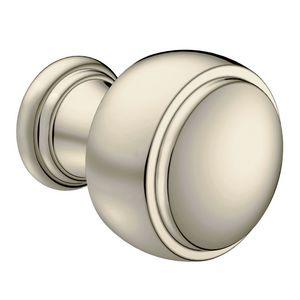 Moen YB8405NL Weymouth Cabinet Knob Bright Nickel Finish