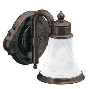 Moen YB9861ORB Waterhill Single Globe Bath Light Oil Rubbed Bronze Finish
