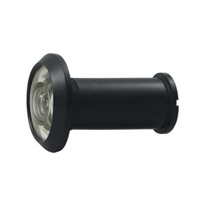 """Deltana 55211U19 1-3/16"""" Diameter Traditional Door Viewer Paint Black"""