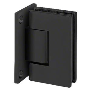 U.S. Horizon Mfg., Inc. HGTWFPMB Designer Series Shower Door Wall Mount Hinge With Full Back Plate Matte Black