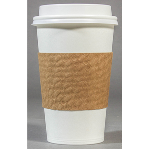 LBP MANUFACTURING 65038-XCP88 PAPERBOARD HOT CUP SLEEVE PLAIN KRAFT - pack of 88