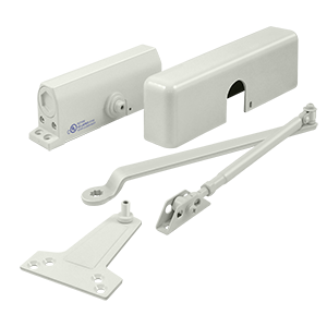 Deltana DC7-WHITE Surface Mount Door Closer White
